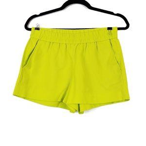 "J. Crew   Chartreuse 3"" Boardwalk Pull On Shorts 0"